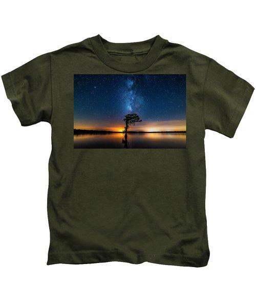 Milky Way Swamp Kids T-Shirt