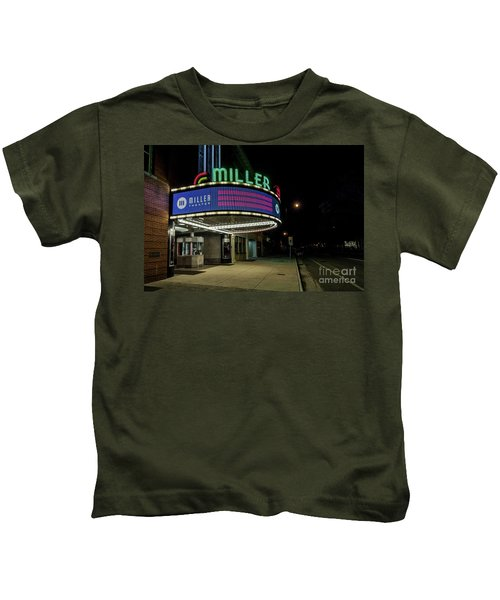 Miller Theater Augusta Ga 2 Kids T-Shirt