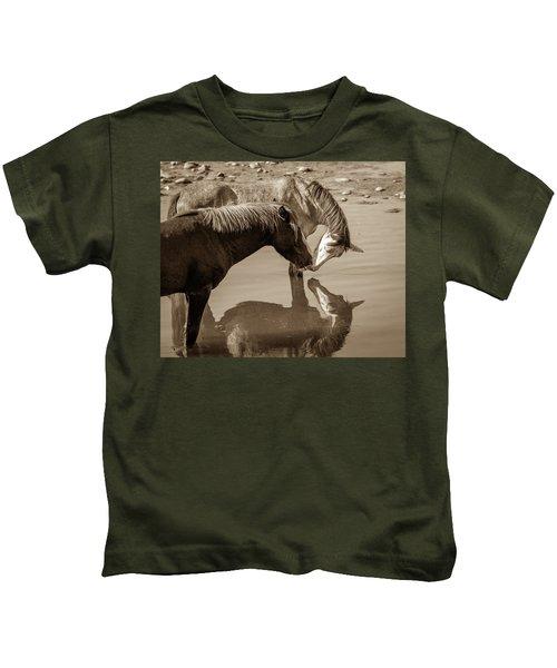 Mirrored Souls Kids T-Shirt