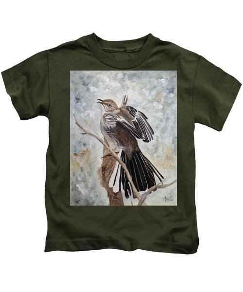 Mockingbird Grandeur Kids T-Shirt