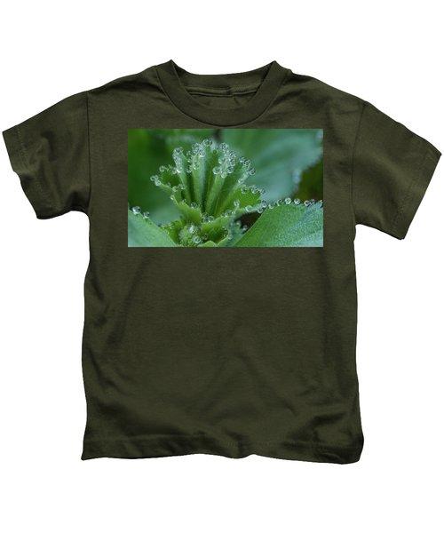 Morning Dew Drops Kids T-Shirt