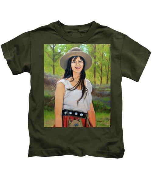 Mountain Megan Kids T-Shirt