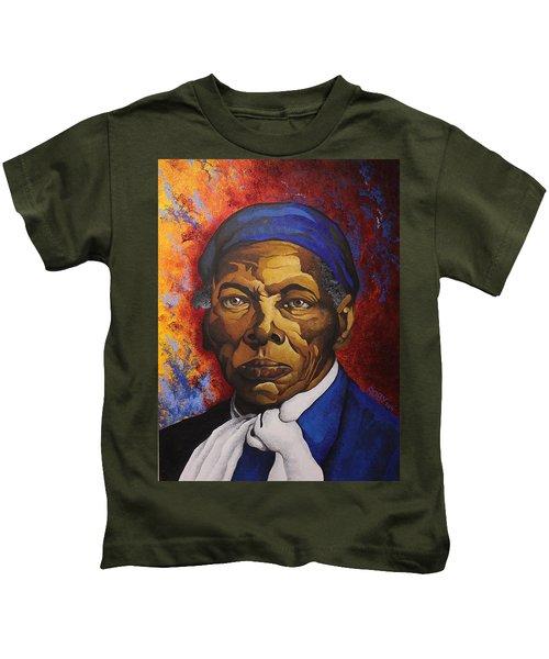 Ms. Tubman Kids T-Shirt
