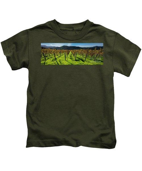 Napa Valley Beauty Kids T-Shirt
