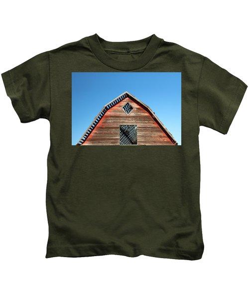 Needs A New Roof Kids T-Shirt