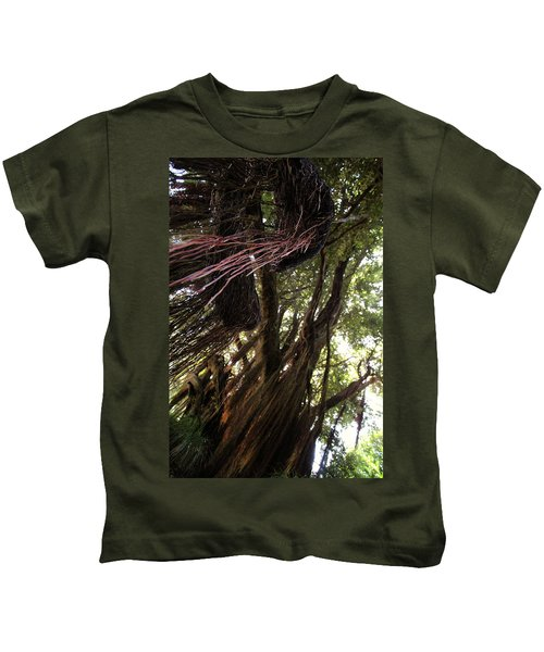 New Zealand Christmas Tree Six Kids T-Shirt