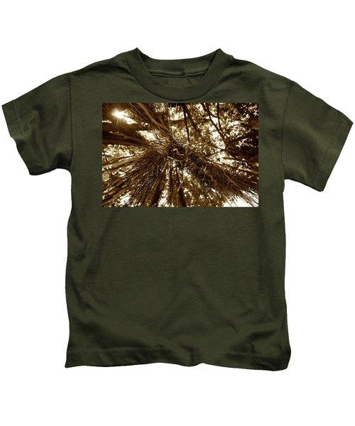 New Zealand Christmas Tree Two Kids T-Shirt