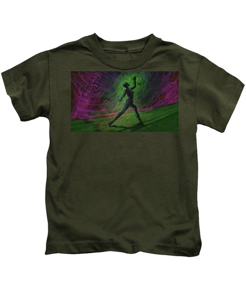 Obscured Dance Kids T-Shirt