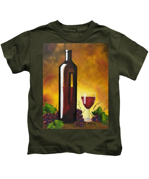 Okanagan Red  Kids T-Shirt