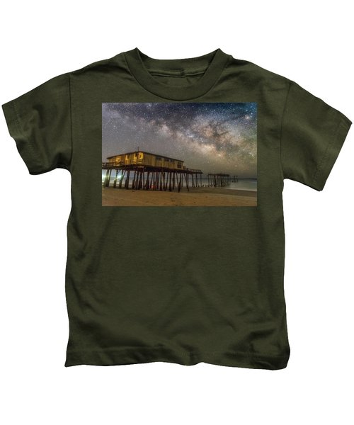 Old Frisco Pier Kids T-Shirt