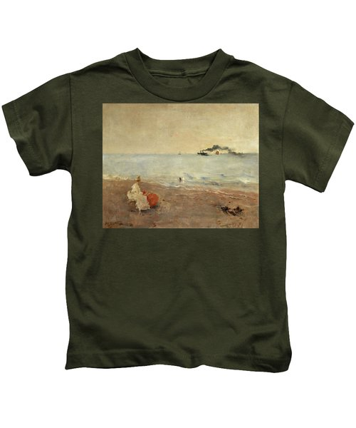 On The Beach Kids T-Shirt