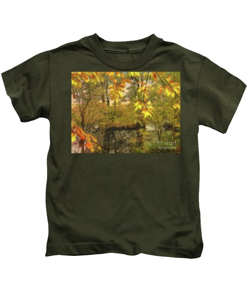 Once A Pond A Time Kids T-Shirt