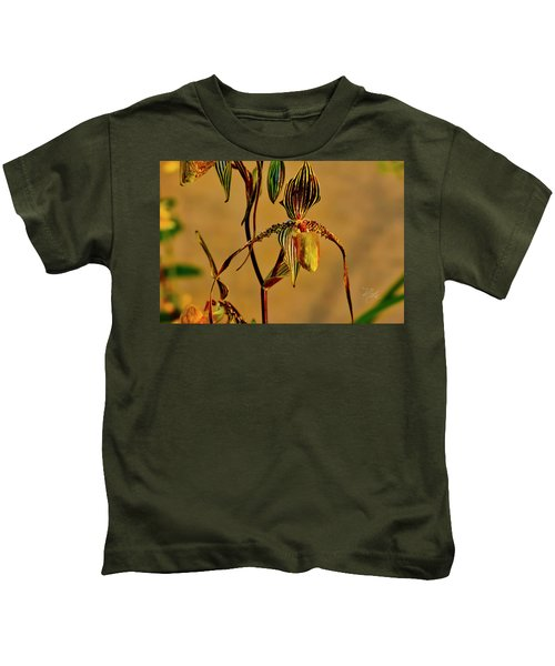 Orchid Study Eight Kids T-Shirt