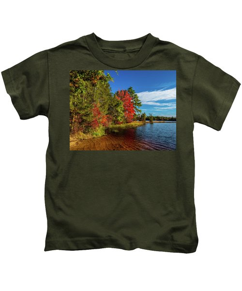 Oswego Lake Pinelands Kids T-Shirt