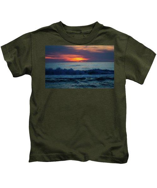 Outer Banks Sunrise Kids T-Shirt