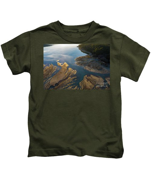 Over The Northwest Two Rivers Gather Kids T-Shirt