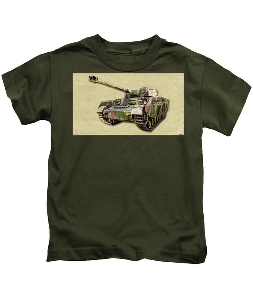 Panzer Iv Canvas Kids T-Shirt