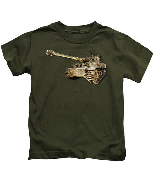 Panzer Vi Tiger Kids T-Shirt