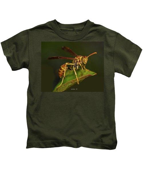Paper Wasp Kids T-Shirt