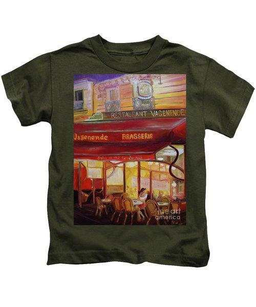 Paris Night Kids T-Shirt