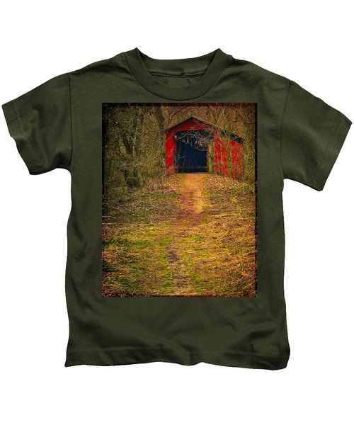 Path To Bridge Kids T-Shirt