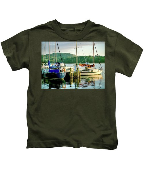 Peace In Lake Windermere Kids T-Shirt