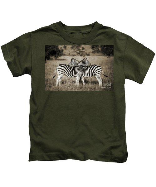 Perfect Zebras Kids T-Shirt