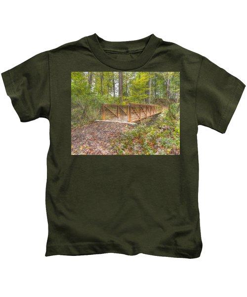 Pine Quarry Park Bridge Kids T-Shirt