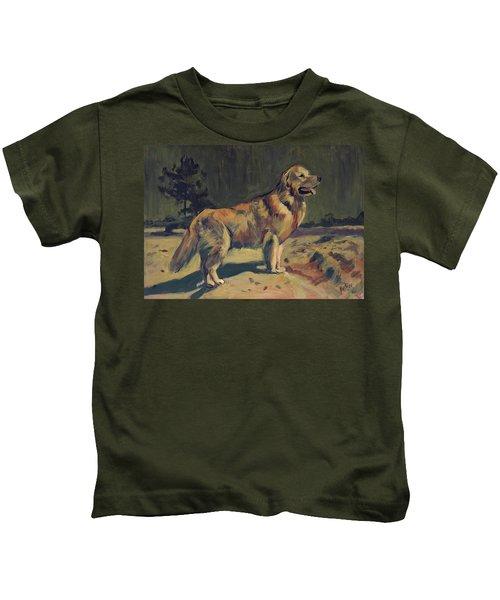 Pixel In The Dunes Of Loon Op Zand Kids T-Shirt