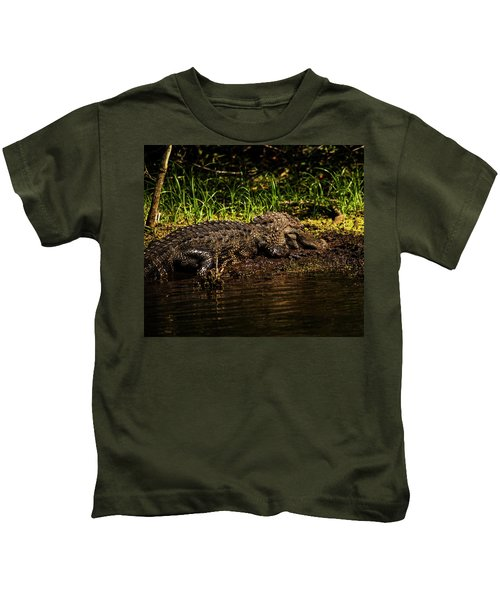 Playing In The Mud Kids T-Shirt
