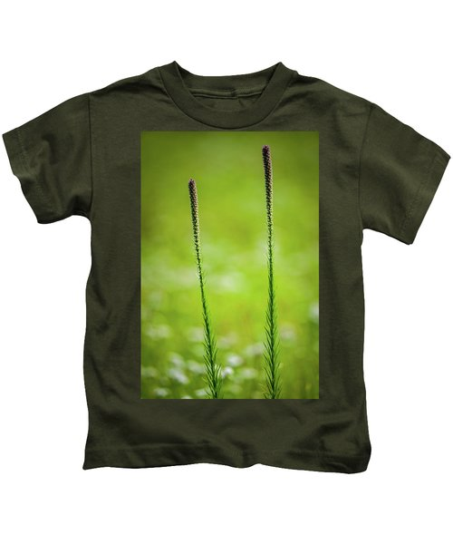 Prairie Blazing Star Kids T-Shirt