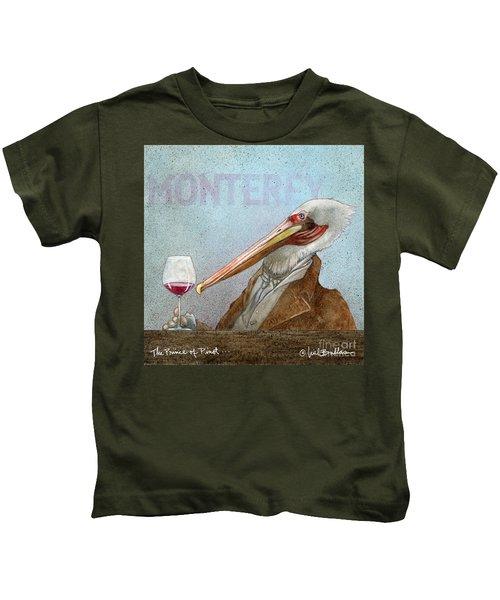 Prince Of Pinot, The Kids T-Shirt