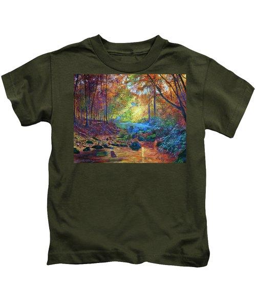 Quiet Autumn Moments Kids T-Shirt