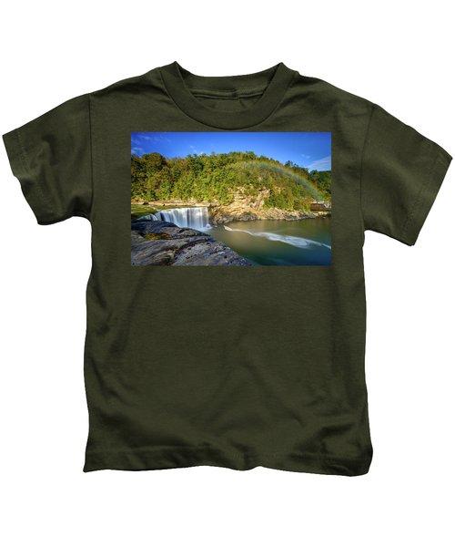 Rainbow Falls Kids T-Shirt