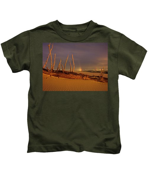 Rainy Day Dunes Kids T-Shirt