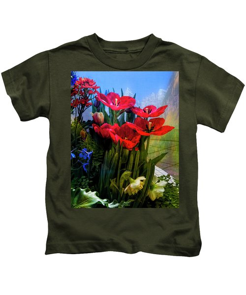 Red Poppies Kids T-Shirt