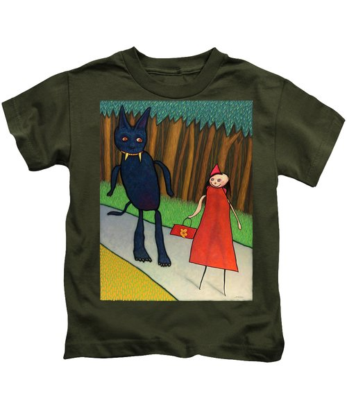 Red Ridinghood Kids T-Shirt