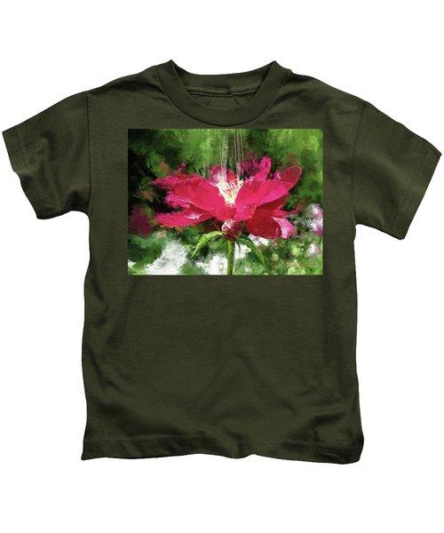 Red Volcano Kids T-Shirt