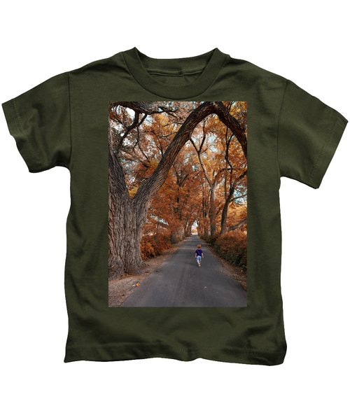 Redhead Fall Walkabout Kids T-Shirt