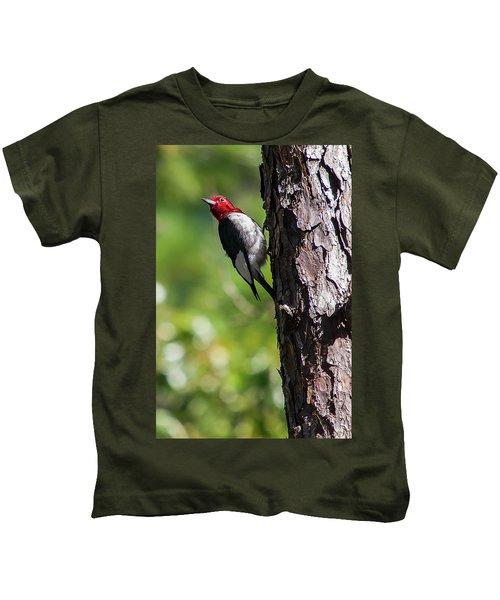 Redhead Woodpecker II Kids T-Shirt