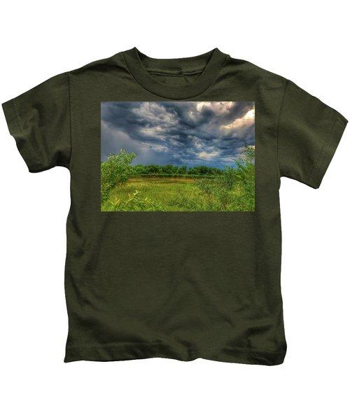 Restless Sky Kids T-Shirt