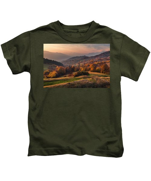 Rhodopean Landscape Kids T-Shirt