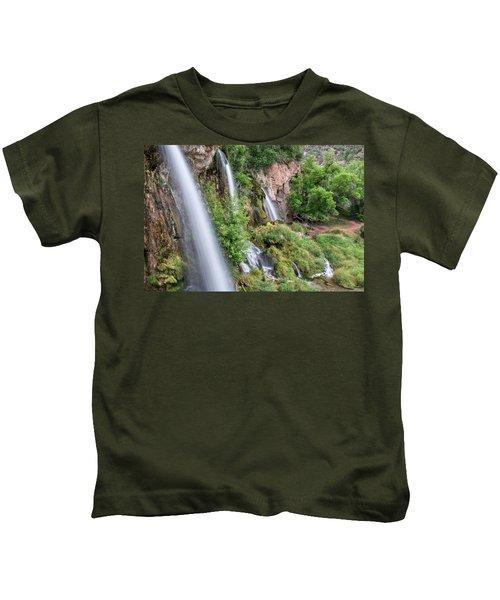 Rifle Falls Kids T-Shirt