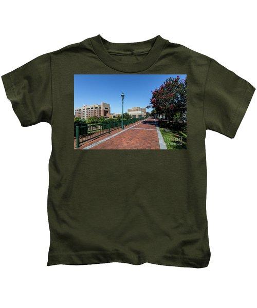 Riverwalk Downtown Augusta Ga Kids T-Shirt