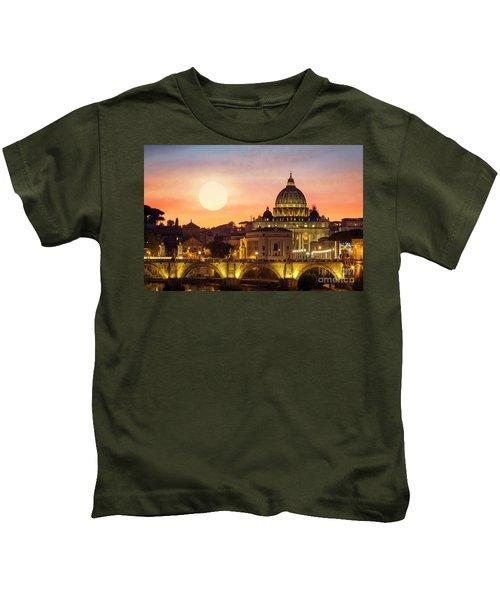 Roman Sunset Kids T-Shirt