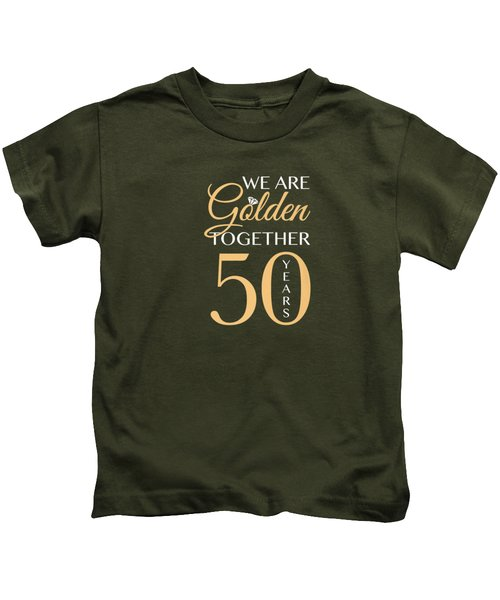 Romantic Shirt For Couples - 50th Wedding Anniversary Premium T-shirt Kids T-Shirt