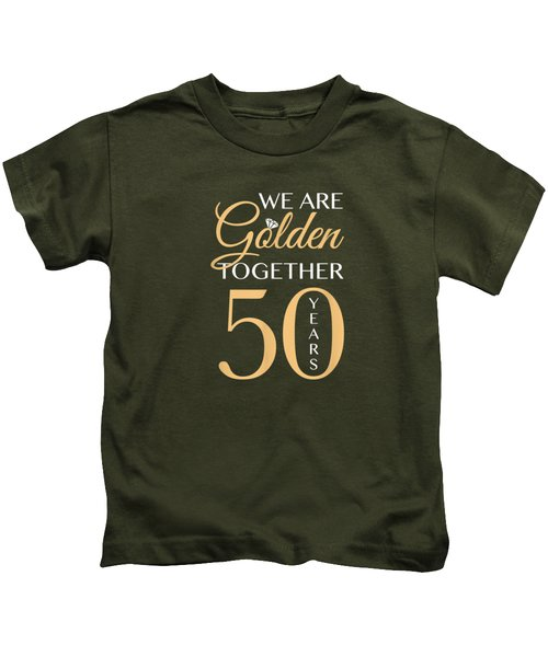 Romantic Shirt For Couples - 50th Wedding Anniversary T-shirt Kids T-Shirt