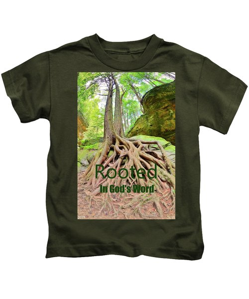 Rooted In God's Word Kids T-Shirt