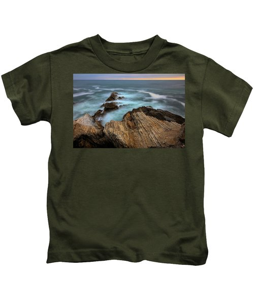 Rugged Beauty  Kids T-Shirt