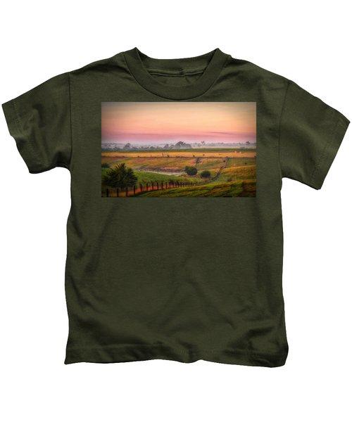Rural Landscape Kids T-Shirt